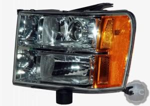 2010 GMC Sierra HID Projector Retrofit Headlight Package
