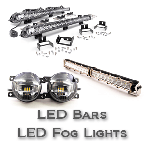 Headlight Packages, LED Lights, Fog Lights, Light Bars