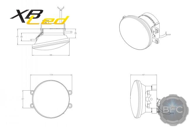 TOYOTA: MORIMOTO XB LED FOGS OVAL (multi-vehicle fitment