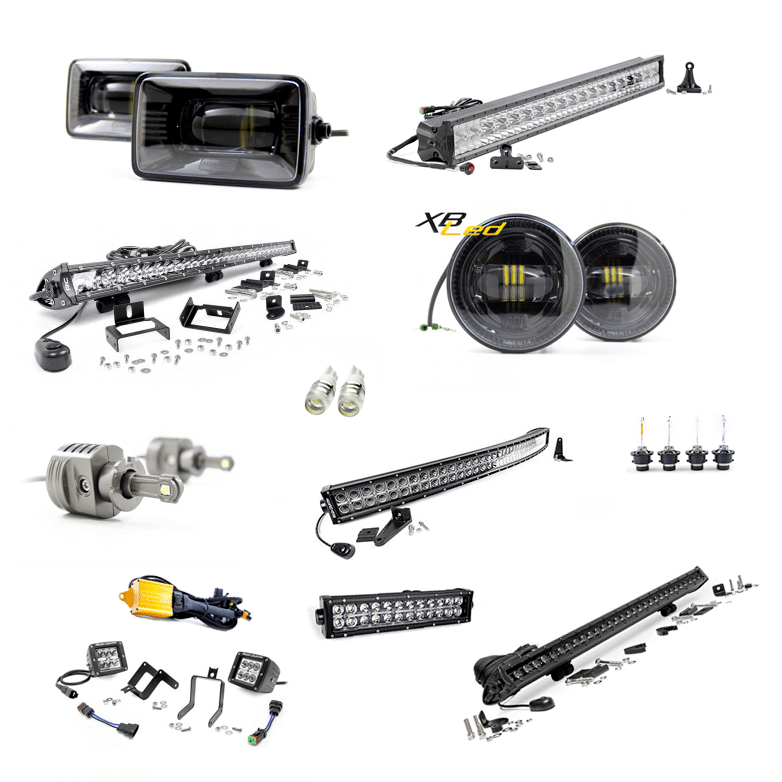 LED Light Bars, Fog Lights & Lighting Accessories