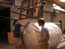 fermenter tank moving 050