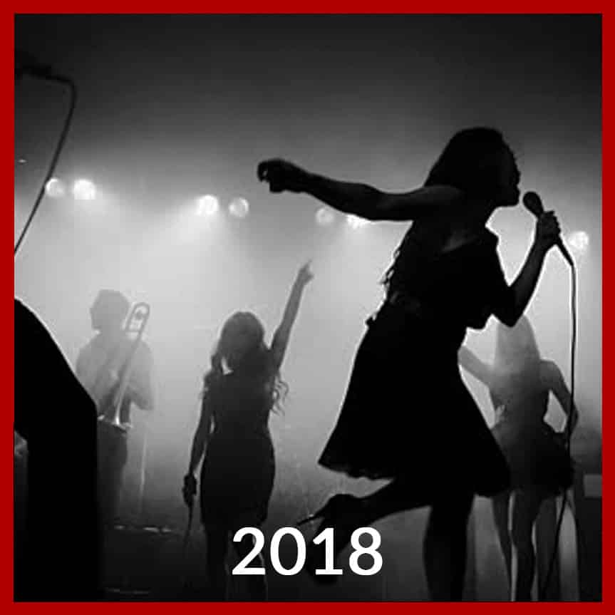 2018 Artists