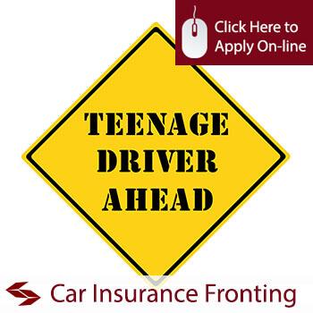Teenage Driver Ahead Sign