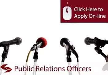 Public Relations Officers Professional Indemnity Insurance