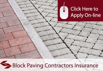 Block Paving Contractors Liability Insurance