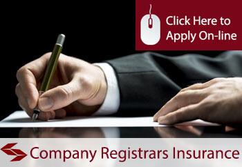 Company Registrars Public Liability Insurance