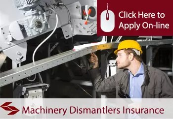 Machinery Dismantlers Liability Insurance