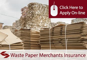 waste paper merchants insurance