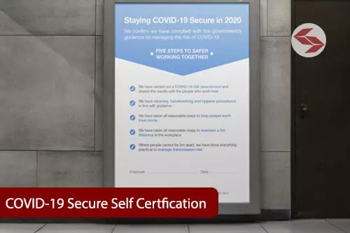 COVID-19 Secure self certification