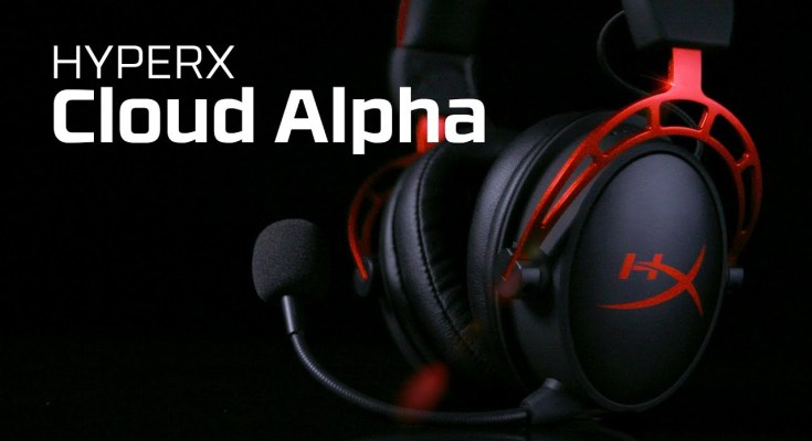 HyperX Cloud Alpha Gaming Headset Black Friday Deal