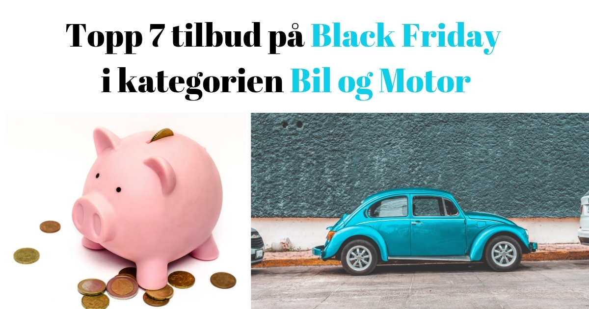 805f05ed Topp 21 beste tilbud på Black Friday (2) - Black Friday 2018