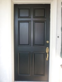 Theres Just Something About a Black Front Door | Hardwood ...