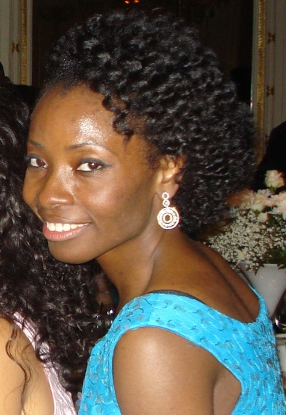 Nibi in Nigeria // Natural Hair Style Icon   Black Girl with Long Hair