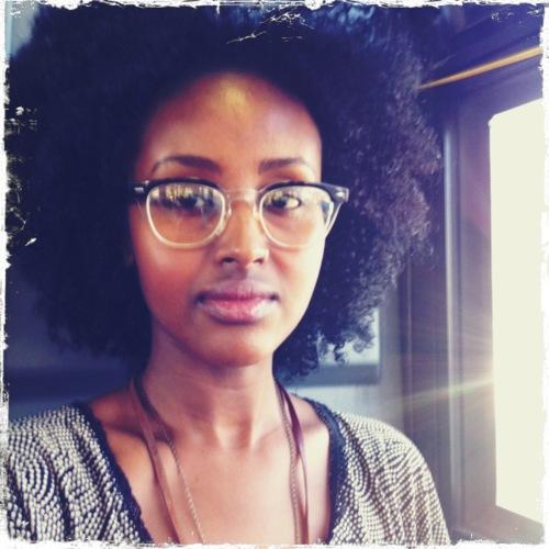 Farhia In Canada  Natural Hair Style Icon  Black Girl With Long Hair-7220
