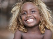 black people with naturally blonde