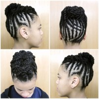 Protective Style: Intricate Braided Updo | Black Girl with ...