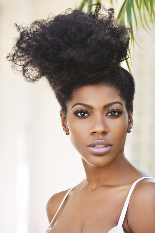 Danielle From Houston  4B4C Natural Hair Style Icon -5150