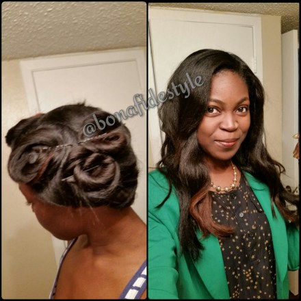 5 tips that kept my flat ironed type 4 natural hair straight for 6 weeks black girl with long hair