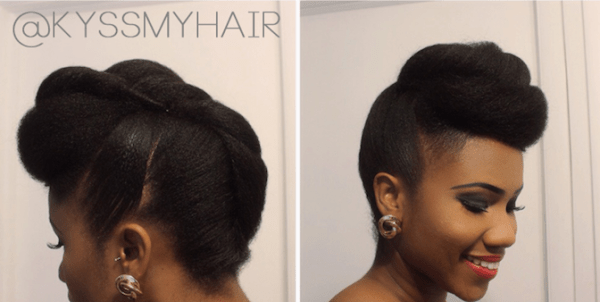 5 Beautiful Natural Hair Styles For A Spring Wedding