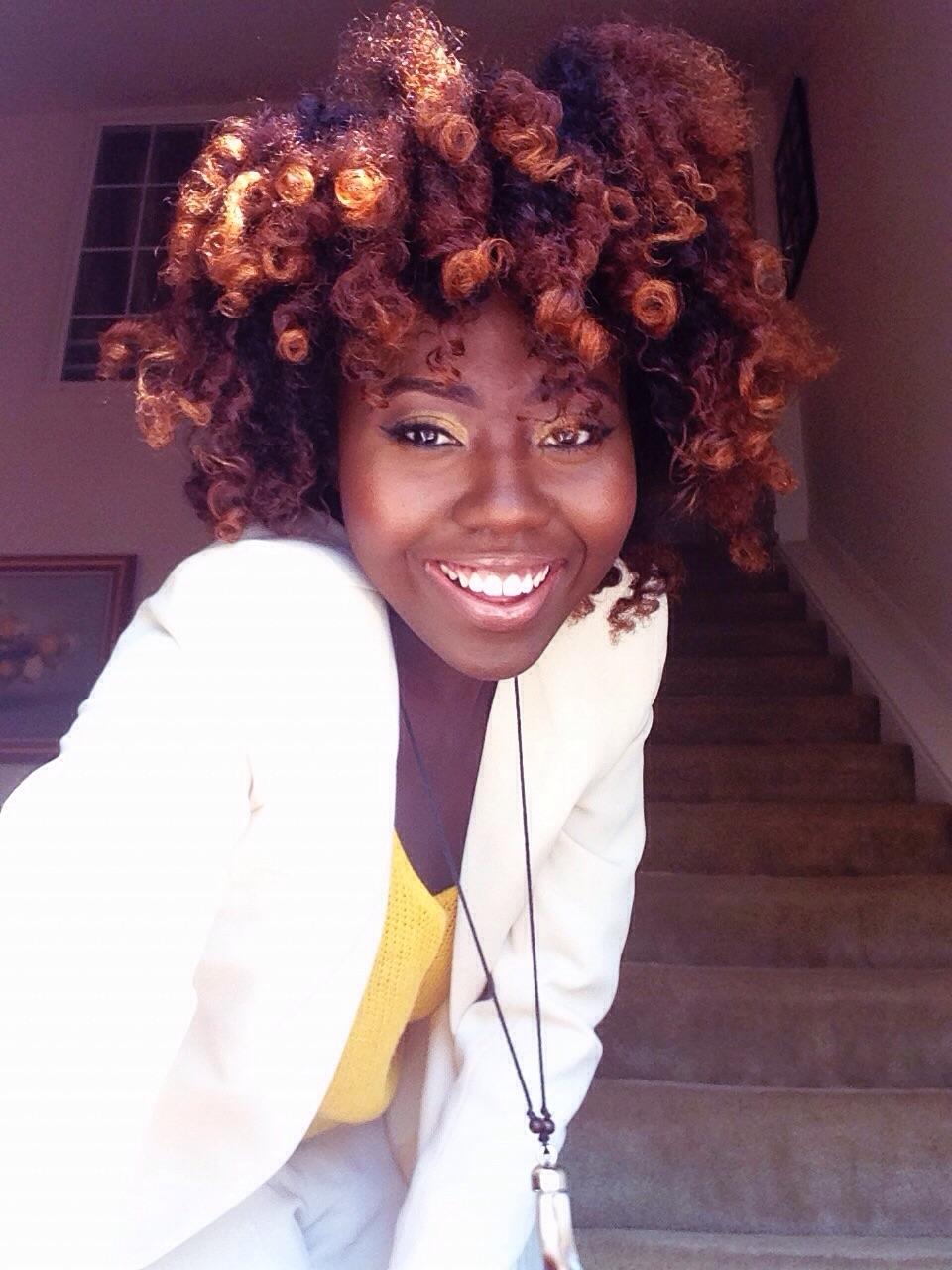 Nana From Virginia  Type 4 Natural Hair  Black Girl -9198