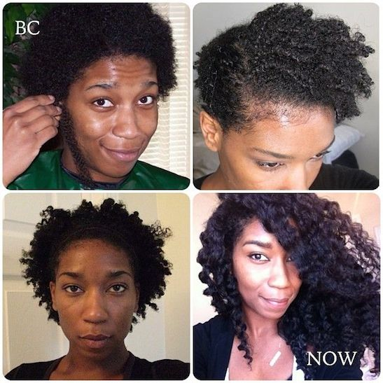 Natural Hair Journey Post Big Chop
