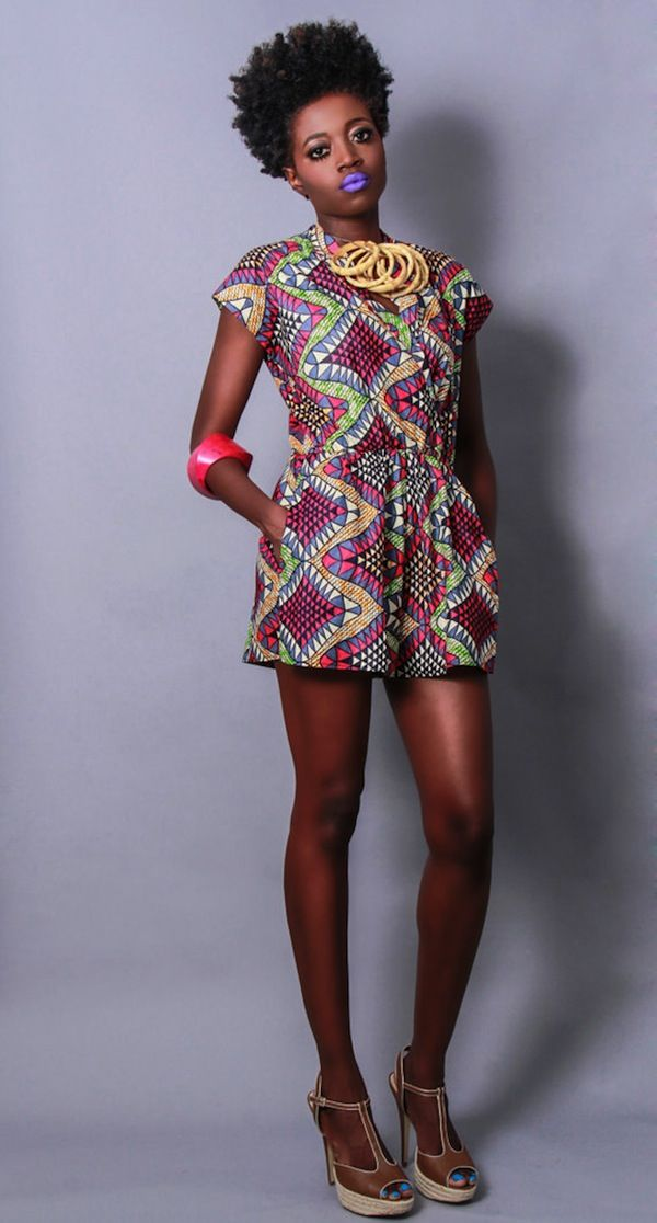 50 Fabulous Modern Ways to Wear African Fabric  Black Girl with ...