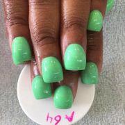 bubble nail hump trend