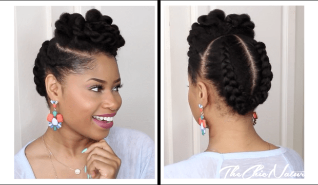 4 Flawless Natural Hair Styles In 10 Minutes Or Less