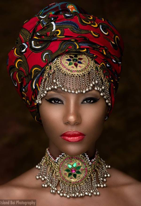 13 Stunning Portraits of Black Women in Headwraps from ... Traditional African Fashion Headdress