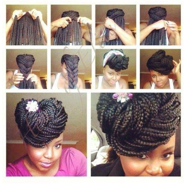 Amazing 10 Gorgeous Ways To Style Box Braids Black Girl With Long Hair Short Hairstyles Gunalazisus