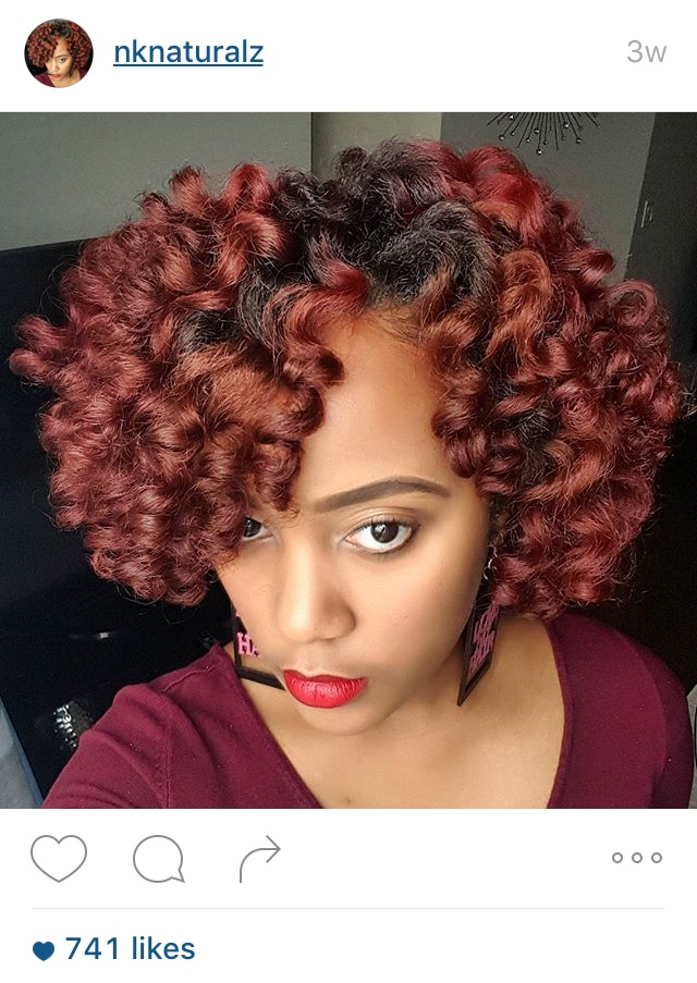 9 Natural Instagrammers Who Went Red For Fall Black Girl