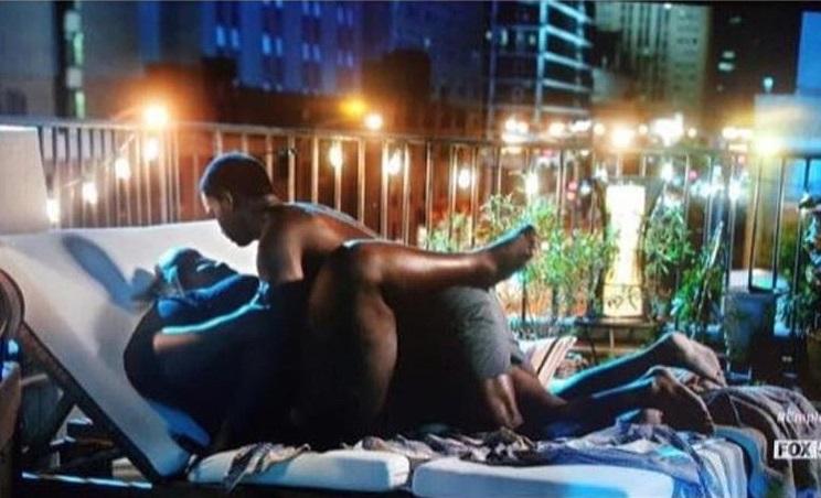 Empire S Sex Scene Featuring A Plus Sized Dark Skinned