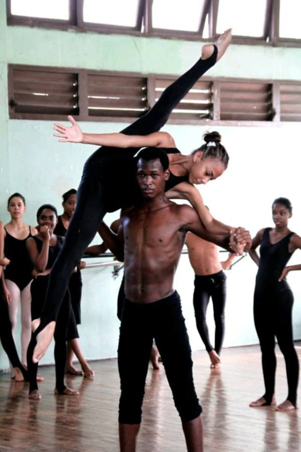 National Ballet School in Havana,Cuba