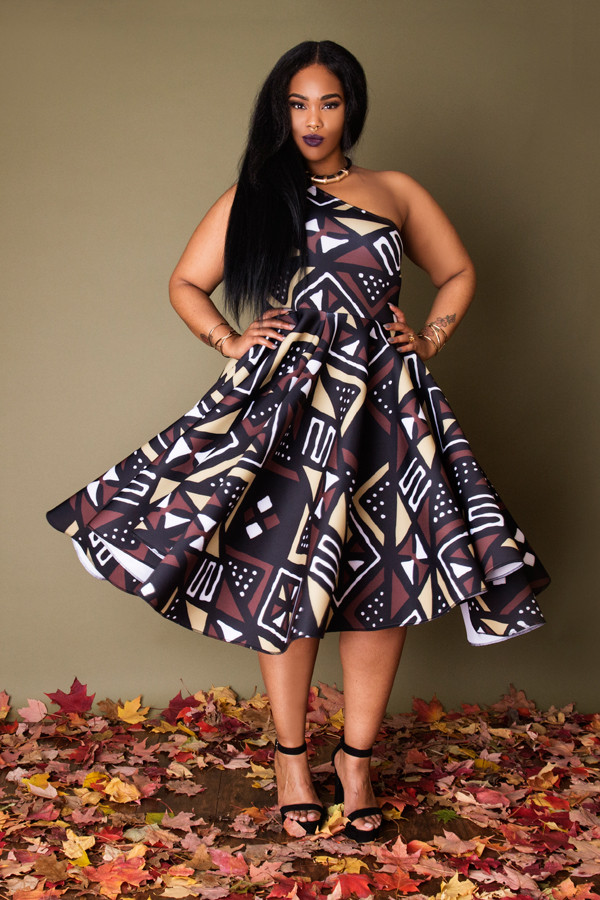 10 Stunning Curvy Girl Holiday Looks By Black Woman