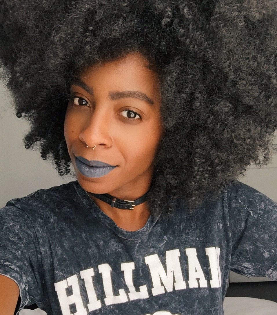 30 Stunning Black Beauty Bloggers Rocking Bold Lips With -5424