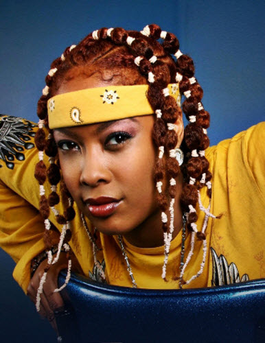 Pic Rapper Da Brat Shows Off New Glam Look and Curly Do | Black Girl with Long Hair