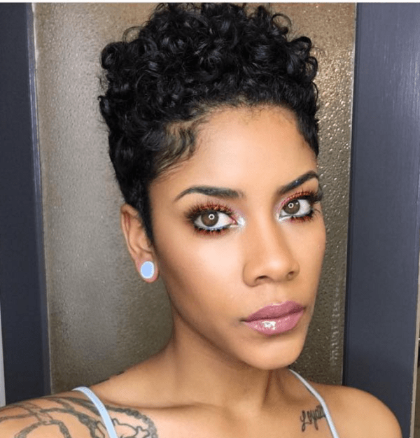 12 Natural Tapered Cuts According To Face Shape Black