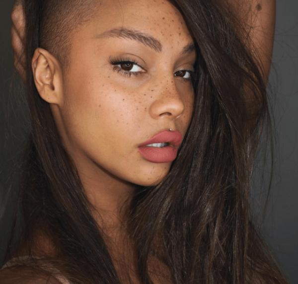 Hot tattoed american brunette slut get fucked by russian coc 2