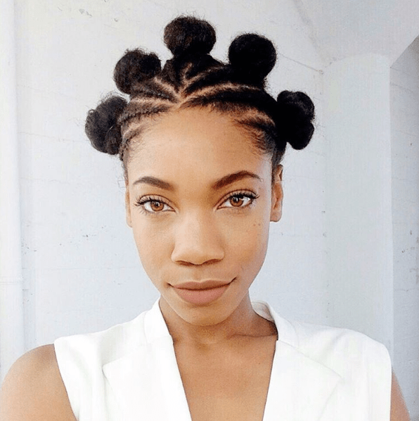 hair knots styles 30 photos that prove bantu knots are a wearable style 9039
