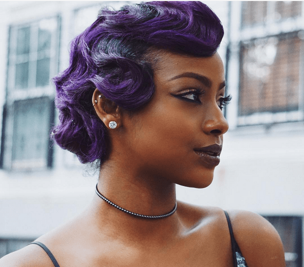 Outstanding Finger Waves An Old School Classic Hair Style That39S Making A Hairstyle Inspiration Daily Dogsangcom