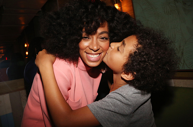 Solange Knowles Son Solange Neatly ...