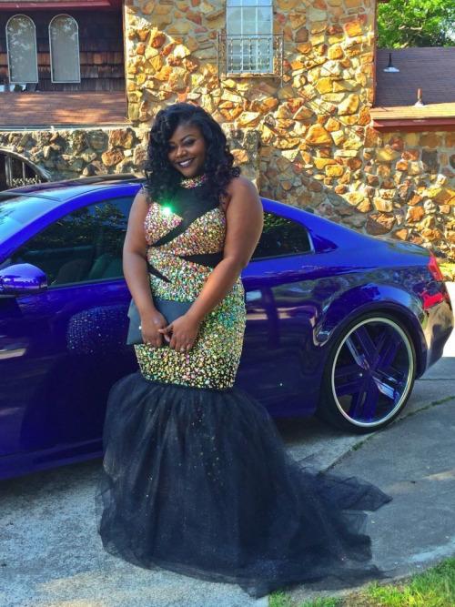 black girls slayed prom