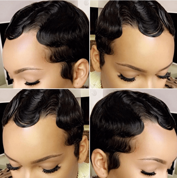 Superb Finger Waves An Old School Classic Hair Style That39S Making A Short Hairstyles For Black Women Fulllsitofus