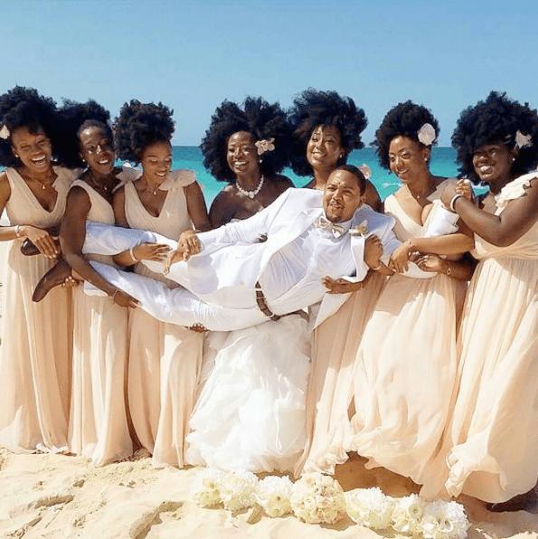 All-Natural Hair Bridal Party Highlights #BlackGirlMagic