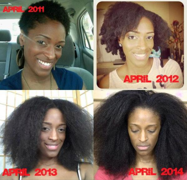 22 Inspiring Natural Hair Growth Journeys Black Girl
