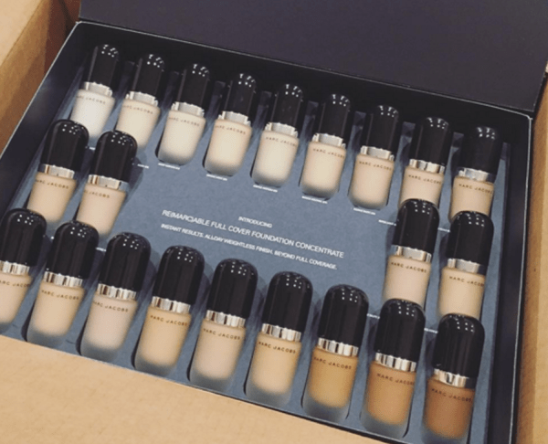 Marc Jacobs' foundations... Are these the only colors he sees?