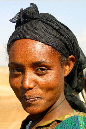 Ethiopian woman. Photo: Niall Crotty