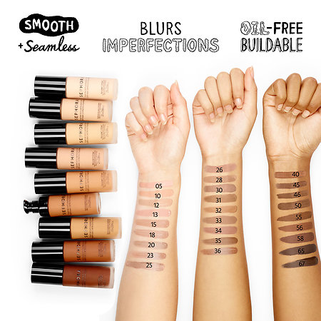 You've got options! Start with the foundation you currently use to find a matching shade from this brand.