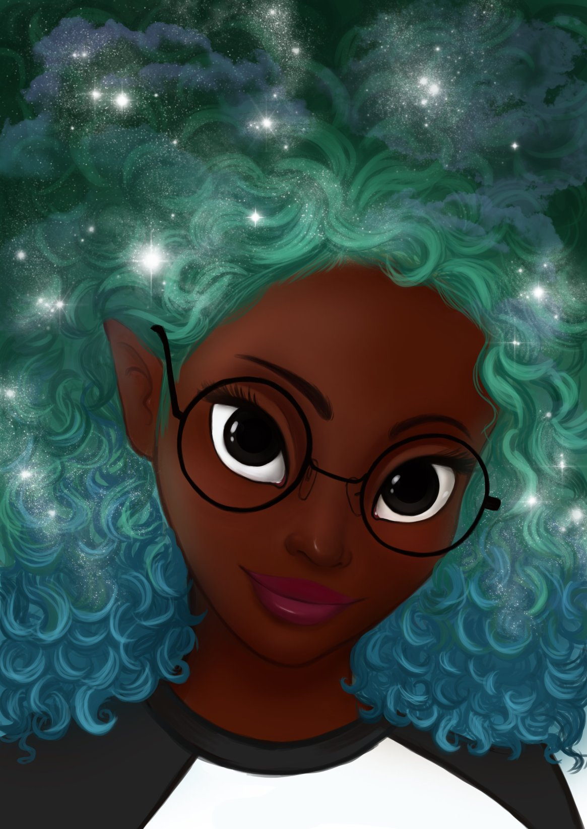 Artistic rendering of Ako, courtesy of Marci & Ako.