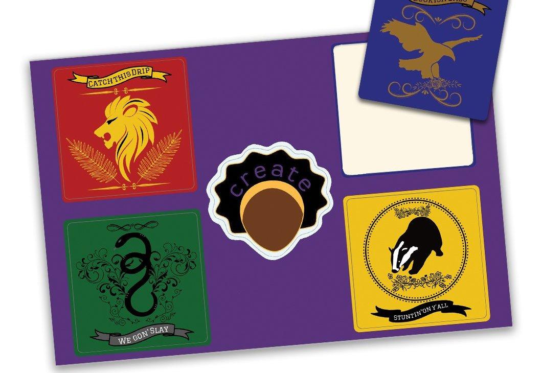 Hogwarts House Sticker Pack